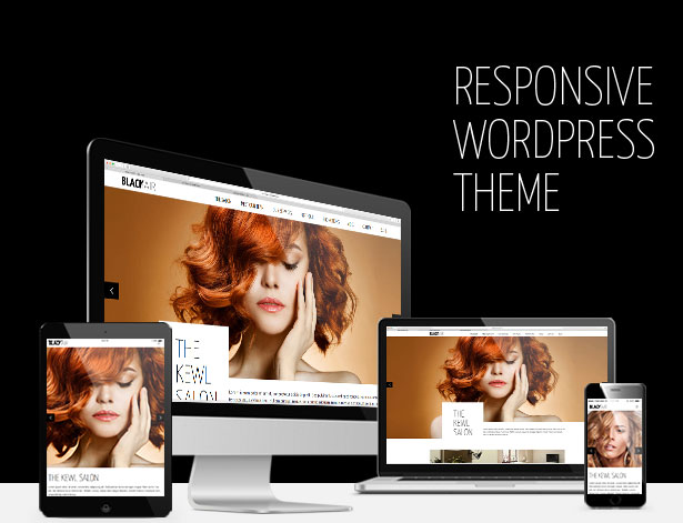 Blackair - One Page WordPress Theme for Hair & Beauty Salon - 2
