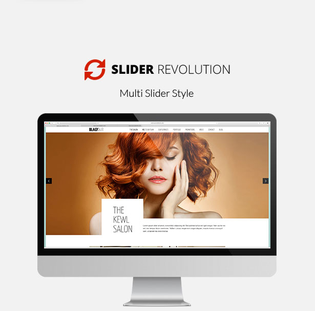 Blackair - One Page WordPress Theme for Hair & Beauty Salon - 3