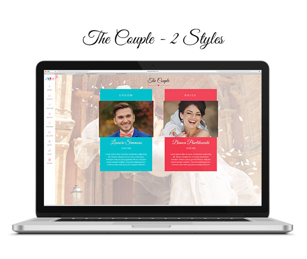 Lovebirds - Responsive Wedding HTML Template