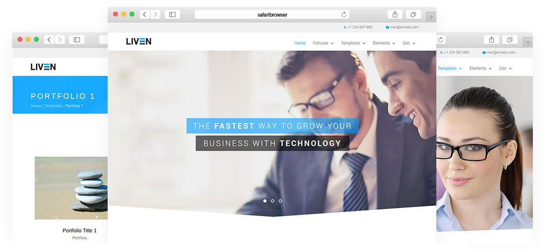 Liven - Corporate Wordpress Themes | Wordpress Theme For Business ...